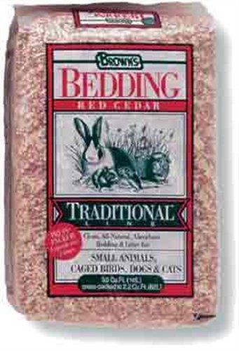 Premier Pet, Press-Packed Bedding, 5.0 Cubic Feet Red Cedar Shavings
