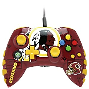 Amazon Com Xbox 360 Nfl Washington Redskins Controller
