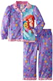 Komar Kids Girls 2-6X Ariel 2 Piece Coat Pajama Set