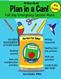 Plan in a Can! Full Day Emergency Lesson Plans for 3rd Grade: All About Birds!