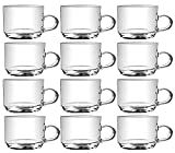 Clear Mugs Pack Of 12 By Nanson