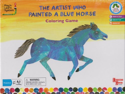 The Artist Who Painted a Blue Horse Coloring Game