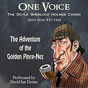 The Adventure of the Golden Pince-Nez Audiobook