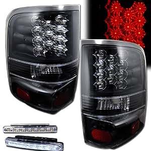 2004 2006 ford f 150 f150 rear brake tail light black. Black Bedroom Furniture Sets. Home Design Ideas