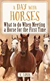 A DAY WITH HORSES - What to do When Meeting a Horse for the First Time (Learning is Awesome Kids Series! Book 22)