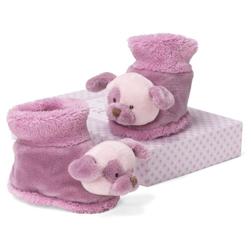 "Gund Raspberry Dog Booties 3"" Infant Accessory"