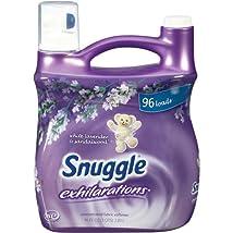 Snuggle Exhilarations Liquid Fabric Softener White Lavender & Sandalwood Twist 96 oz