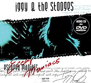 IGGY THE STOOGES-ESCAPED MANIACS [CD+2XDVD]