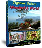 Jigsaws Galore Wonderful World Puzzle Game for Windows; Breathtaking Scenery From Around the World, Flowers, Wildlife, Buildings, Food and Scenes From Various Aspects of Human Life