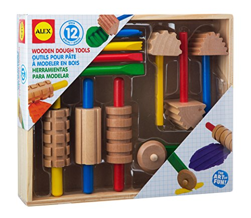 Wooden Dough Tools Set 12 Piece