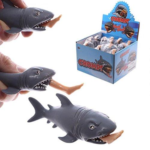 Chompy Requin avec Pop Out Surfer jambe Jouet