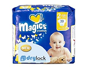 babies best Magics Premium 1.0 Windeln Gr.2 Mini 3-6 kg, 117 Windeln