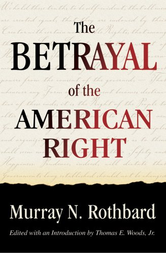 Large book cover: The Betrayal of the American Right