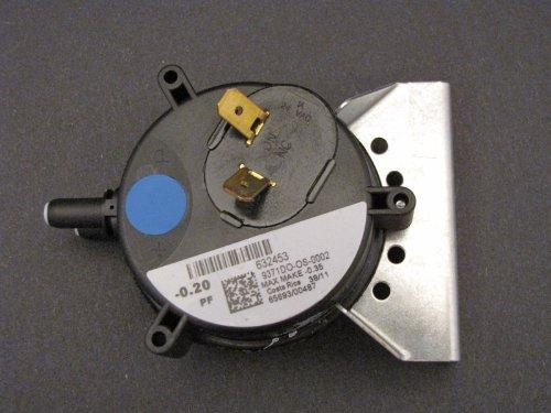 Легкого типа Nordyne 632453 Pressure Switch