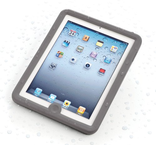 Lifedge Waterproof Case for iPad 2 - Grey