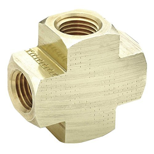 parker-hannifin-2205p-6-brass-cross-pipe-fitting-3-8-female-thread-x-3-8-female-thread-x-3-8-female-