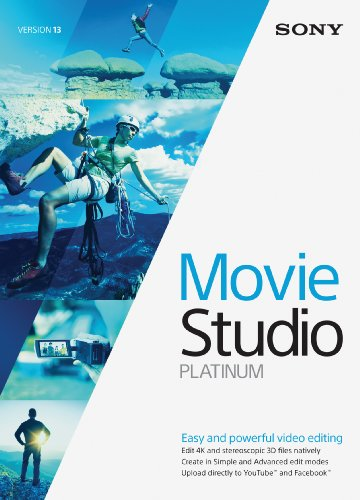 Sony Movie Studio 13 Platinum- 30 Day Free Trial [Download] (Sony Movie Studio Platinum 10 compare prices)