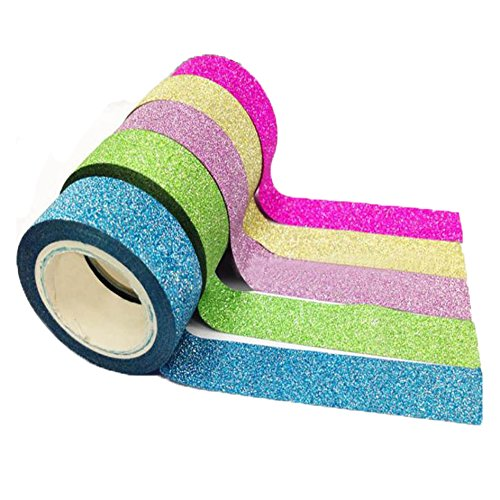 bandes-ruban-adhesives-kolylong-diy-deco-chambre-tape-5x-washi-papier-collant-masking-decoratif-scra