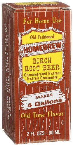 Homebrew Birch Root Beer Concentrated Extract 2 Ounce