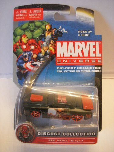 "Maisto Marvel Universe Die-Cast Collection - ""Red Skull (Slayer)"""
