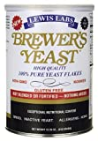 NEW - BREWER'S YEAST FLAKES - High Quality 100% Pure Yeast Flakes 12.35oz (1 Can)