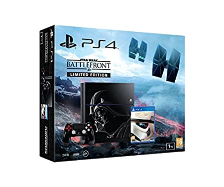 Sony PlayStation 4 1TB Star Wars Deluxe Edition