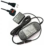 Dot.Foto replacement Canon ACK-DC100 AC Adapter Kit - CA-DC40 Mains Power Adapter & DC Coupler [See Description for Compatibility]