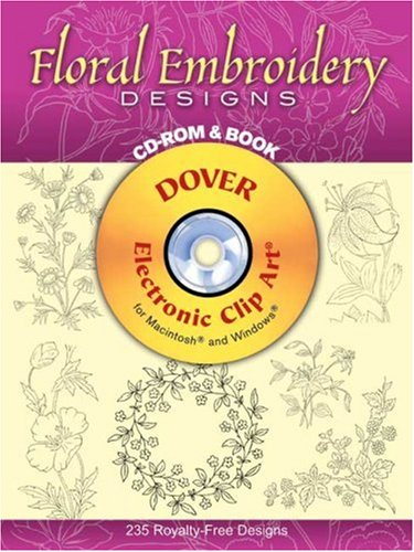 floral design clipart. floral design clipart. Floral Embroidery Designs CD