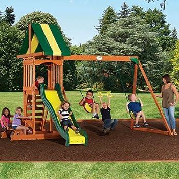 Backyard Discovery Prestige Wood Swing Set + $52.49 Sears Credit