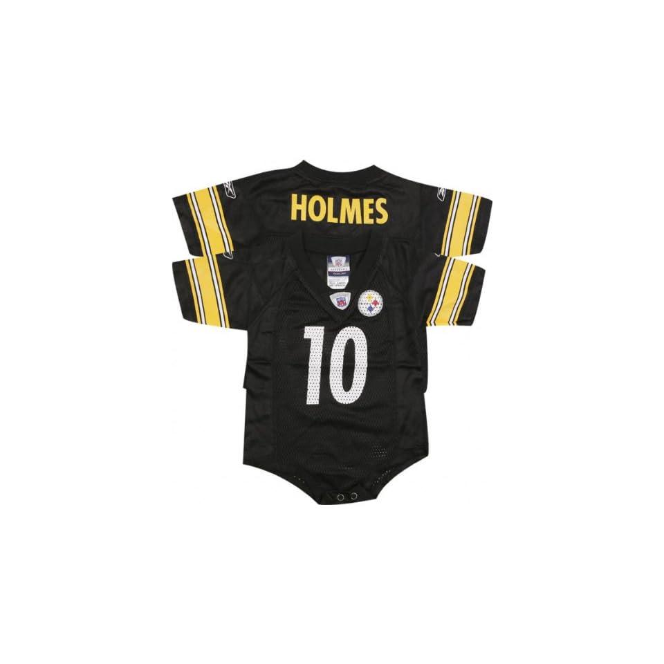 Santonio Holmes Black Reebok NFL Pittsburgh Steelers Infant Jersey