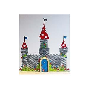 Irish fairy door fairy castle decal pack for Irish fairy door uk