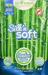 Amazon Com Silk N Soft Bamboo Tree Free 3 Ply Toilet