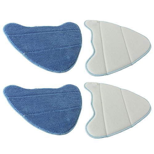 To fit SCRUB HOME-TEK MICRO FIBRE STEAM MOP CLEANING PADS x 2