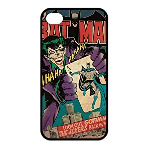 Nexttt Design The Joker iPhone 4/4s Case Dc Comics Batman Joker Poker Case Cover for iPhone 4 4s