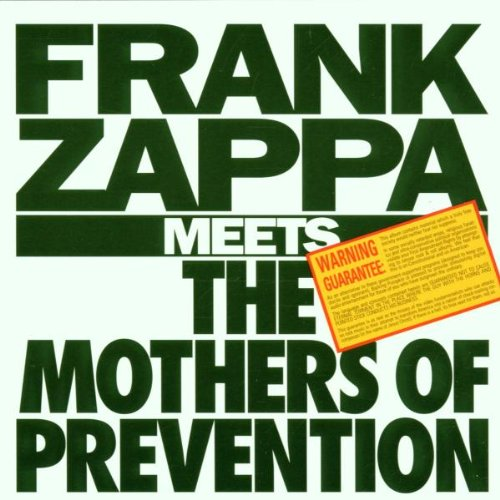 Frank Zappa Meets the Mothers of Prevention artwork