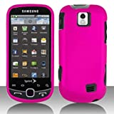 Samsung Intercept Moment 2 M910 Cell Phone Rubber Feel Hot Pink Protective  ....