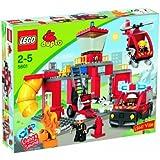 Lego - 5601 - Duplo - Jeux de construction - La caserne des pompiers
