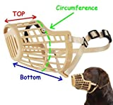 Basket Cage Dog Muzzle Size 2 – Adjustable Straps – X SMALL