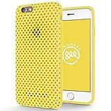 Amazon.co.jp: AndMesh iPhone 6s ケース メッシュケース イエロー AMMSC621-YLW: 家電・カメラ