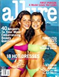 Allure Magazine - May 1998: Gisele & Aurelie Claudel Cover!