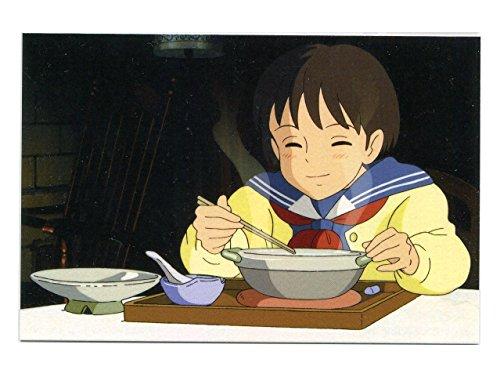 耳をすませば ポストカード 食べ物シリーズ ~おじいさんの鍋焼きうどん~