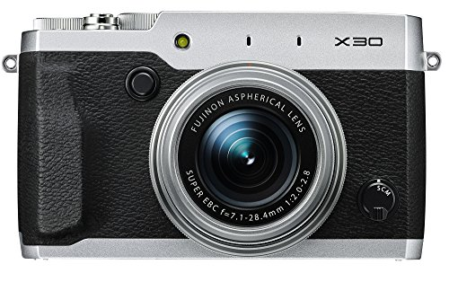 Fujifilm X30 12 MP Digital Camera with 3.0-Inch LCD (Silver)