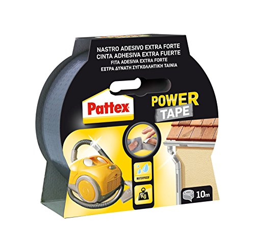 Henkel 1669712 - Power Tape Nastro Universale, 10 m, 1 pz, Grigio