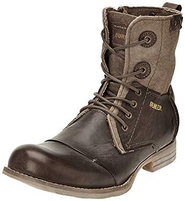 Bunker Tar, Boots homme - Marron (Bu Smoky), 40 EU