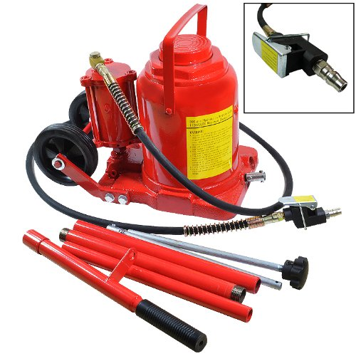 50 Ton Air Hydraulic Bottle Jack Truck Repair