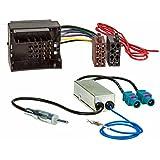 Baseline Connect Radio-Adapterkabel MOST,Quadlock auf ISO plus Phantomeinspeisung Doppel Fakra DIN