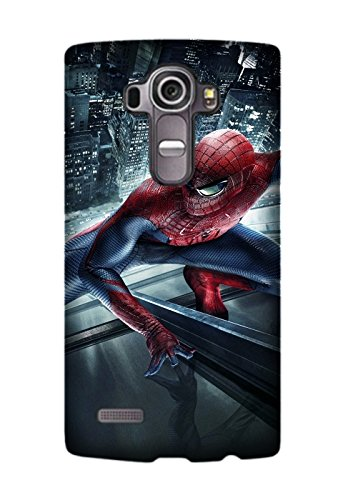 Movie The Amazing Spider-Man 2 Mobile Phone Skin Case Cover For LG G4