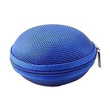 buy Phoneix Mini Round Headphone Bag Leather Sennheiser Blue