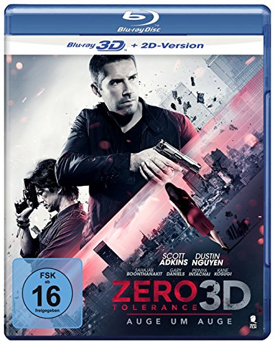 Zero Tolerance - Auge um Auge [3D Blu-ray + 2D Version]