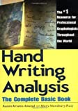 img - for Handwriting Analysis: The Complete Basic Book by Amend, Karen Kristin, Ruiz, Mary S. (1986) Paperback book / textbook / text book